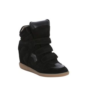 Isabel Marant Beckett sneaker wedges