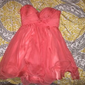Dresses & Skirts - Short Summery Orange Formal/Prom Dress