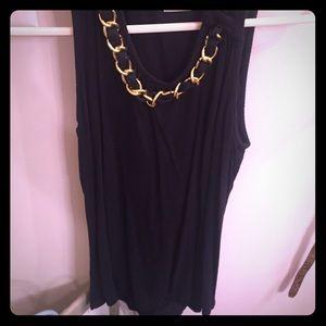 Black Michael Kors blouse