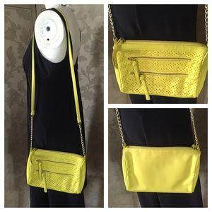 NWOT BONGO Crossbody in Neon Yellow