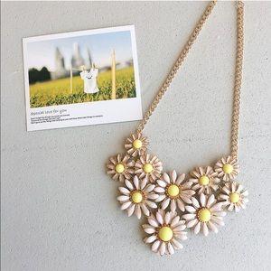 flower necklace.