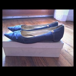 Miu Miu Denim Point-Toe size 39.5