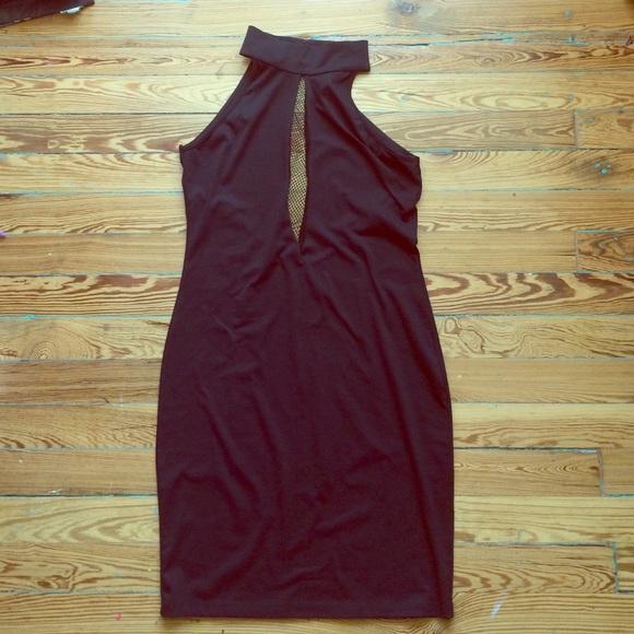 Blaque Market Dresses & Skirts - Blaque Market Netted Mini Dress