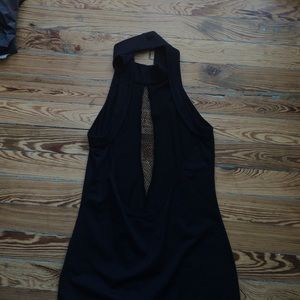 Blaque Market Dresses - Blaque Market Netted Mini Dress