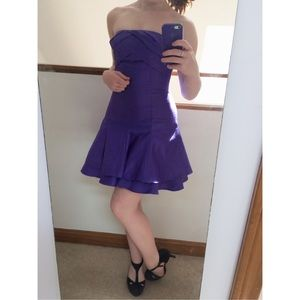 Jessica McClintock Dresses & Skirts - Backless Purple Dress
