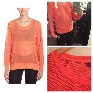 Merrell Tops - Merrell :: Orange Mesh Activewear