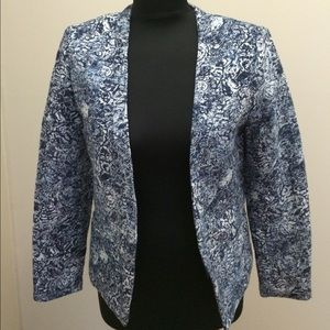 Blue/White Blazer