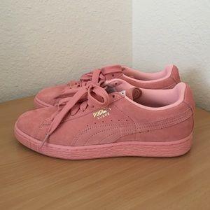 Chaussures De Rose Puma Daim Femmes NR90PFCg0G