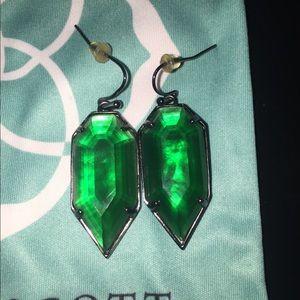 3c71f472d Kendra Scott Jewelry - Kendra Scott Palmer earrings in Emerald