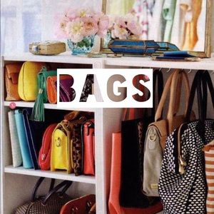 """Handbags - """"Like"""" to get notified of new bags in my closet!"""