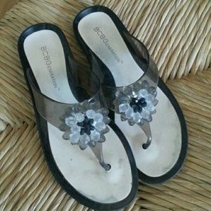 Shoes - 🔥BOGO🔥BCBG beaded jellies