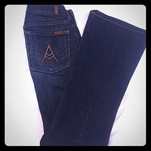 7 FOR ALL MANKIND JEANS Size 27 Like New!