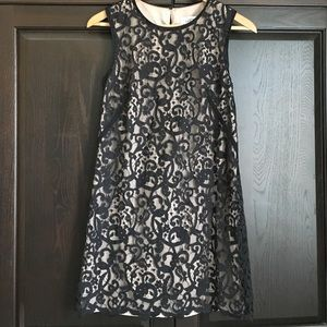 Black Lace Shift Dress from Loft size 2