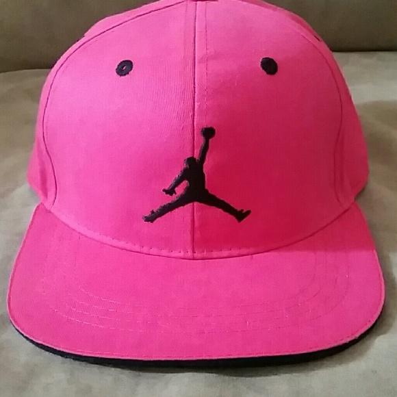 Jordan Other - Hot pink Jordan hat 7acaf9264cd8
