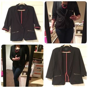 Christian Siriano Jackets & Blazers - Black Blazer | Designer | single button