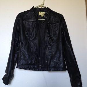 Maralyn & Me Jackets & Blazers - NWOT Faux Leather Jacket