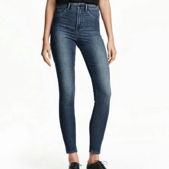 7329f46b833b5 H&M Jeans | Hm Super Skinny High Waist | Poshmark