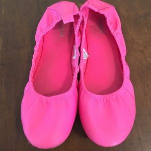 Old Navy hot pink flats size 7