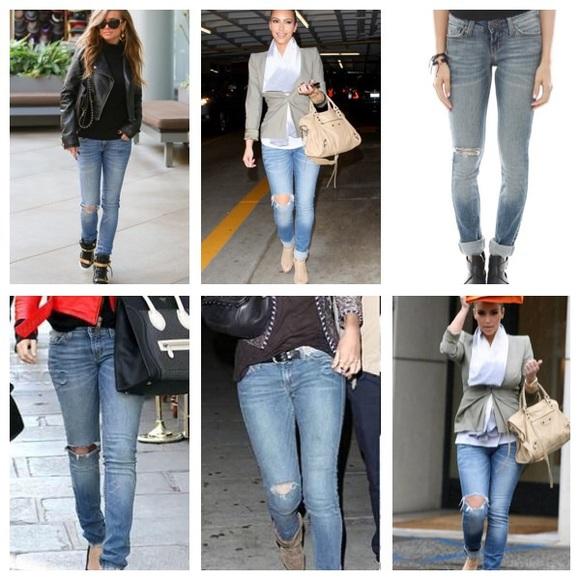 Jet by John Eshaya Skinny Jeans
