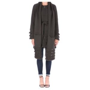 Laundry by Shelli Segal sweater coat