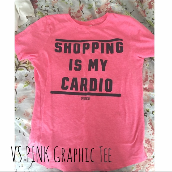 f46f43a1360c7 VS PINK Graphic Tee