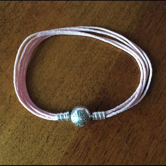 44ecb56c74b ... official store authentic pandora pink string bracelet 2ec36 a8e06