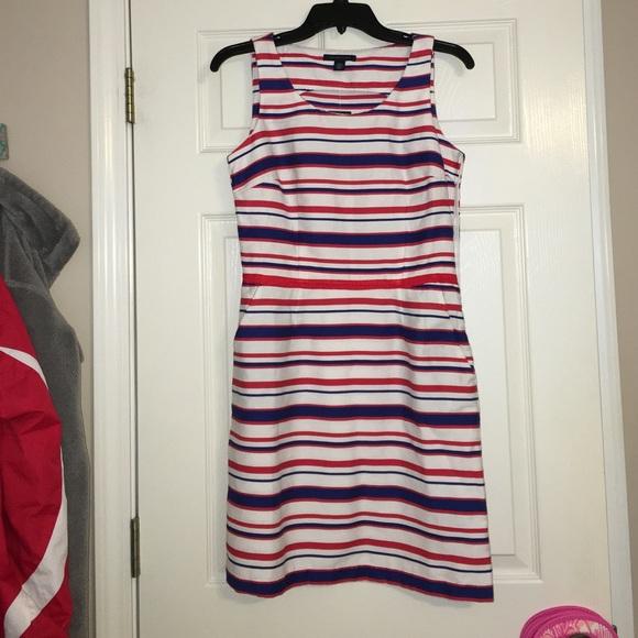 a523cece6d389 Tommy Hilfiger Dresses | Red White Blue Striped Dress | Poshmark