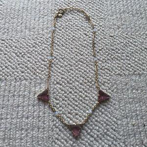 J. Crew Jewelry - J. Crew necklace with purple stones