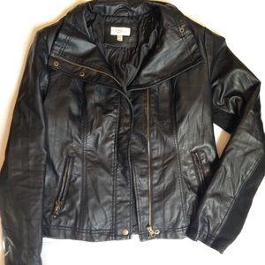 💙SALE💙 Black Faux Leather Jacket