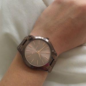 842e6567ce78 Michael Kors Accessories - Sable Michael Kors Slim Runway Watch