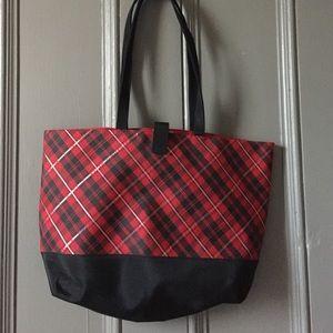 Lancome Handbags - Calgary Tartan Plaid Tote Bag