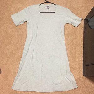 American Apparel mint dress