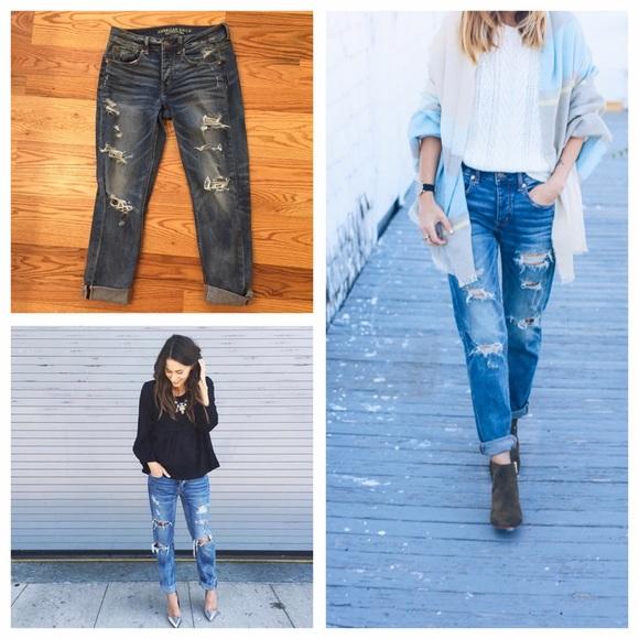f7954e4edb8039 American Eagle Outfitters Jeans   Ae Tomgirl   Poshmark