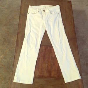 Blank Nyc capri length white skinnies