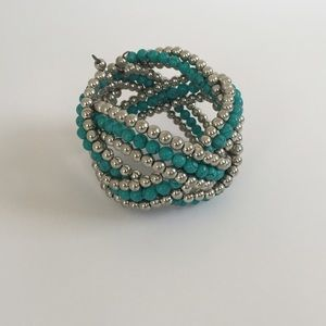 Urban Outfitters Jewelry - Turquoise boho cuff