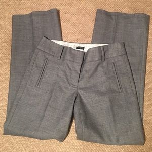 J. Crew Fully Lined Trousers