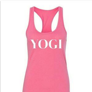 Salt Lake Clothing Tops - Yogi Racerbank Tank
