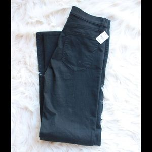 Gap Fit Flare Black Jeans