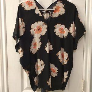 Ivanka Trump Tops - Floral blouse