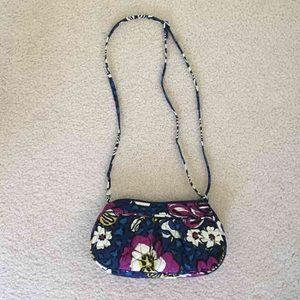 Vera Bradley Frannie- African Violet purse