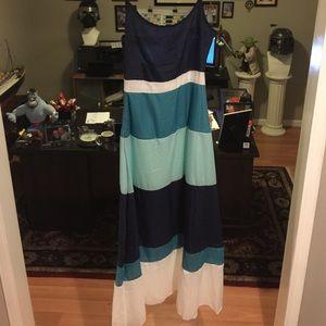 Striped dress NWOT