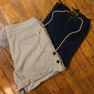 Brooklyn Industries Pants - Brooklyn Industries seersucker shorts