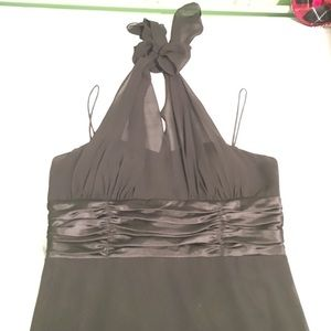 SL Fashions Dresses & Skirts - SL Fashions black halter dress size 16