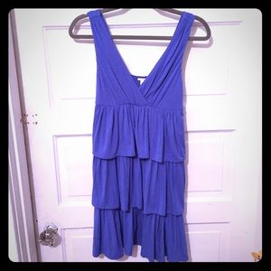J Crew ruffle dress