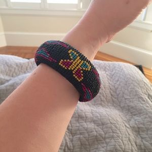 Jewelry - Beaded Aztec bangle