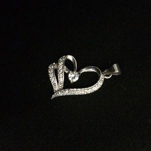 Host pick ♥️ Vintage Heart necklace charm 925