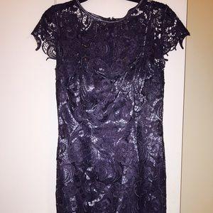 Patra Illusion Lace Sheath Dress