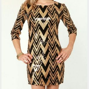 GORGEOUS sequins dress by Ark & Co