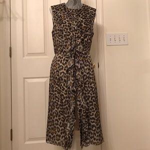 Carolina Herrera Dresses & Skirts - Carolina Herrera 100% Silk Cheetah Print Dress