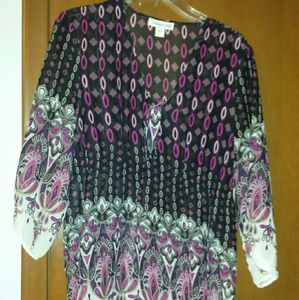 Coldwater creek blouse large